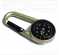 Mini Outdoor Camping Metal Keychain Portable Compass