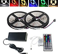 10M 150X5050 SMD RGB LED Strip Light and 44Key Remote Controller and 6A US Power Supply (AC110-240V)