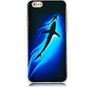Dolphin Pattern Hard Back Case for iPhone 6