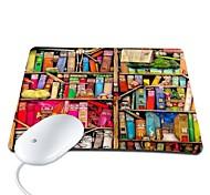 elonbo bella libreria in pelle pu antiscivolo mouse mousepad pad
