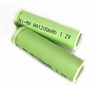 2pcs 1.2V 1200mAh GreenMax aa batería recargable Ni-MH