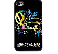 Personalized Phone Case - Car Design Metal Case for iPhone 4/4S