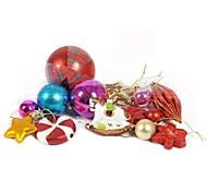multi-styles décorations pour arbres de Noël suspendus 13pcs