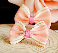 Hair Accessories for Dogs / Cats Green / Pink / Yellow Summer Mixed Material