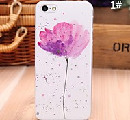 Beittal® China Style Flower Pattern Painting PC Hard Cover for iPhone5/5s ip5zgfhch