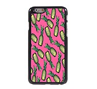 Lovely Pineapple Design Aluminium Hard Case for iPhone 6