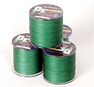 PE 300M 40LB 0.28mm Dark Green Braid Wire Dyneema Fishing Line