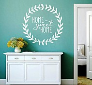 JiuBai® Sweet Home Quote Wall Sticker Wall Decal, 58CM*58CM