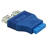 surper Geschwindigkeit USB3.0 bis 20-poligen Adapter USB3.0