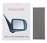 """toshome film anti-éblouissement pour rétroviseur rétroviseurs intérieurs série bricolage (9,84 """"* 3,93"""" * 1pc)"""