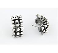 Love Is Your Little Hedgehog Zircon Stud Earrings