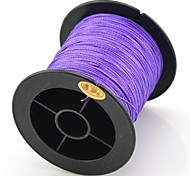 200M / 220 Yards PE Braided Line / Dyneema / Superline Fishing Line Purple 28LB 0.23 mm ForSea Fishing / Fly Fishing / Bait Casting /