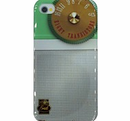 tester patroon pc Hard Cover Case voor iPhone 4 / 4s