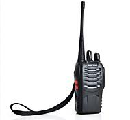 nuevos-888S bf de dos vías walkie talkies de radio linterna transceptor radio fm 5w