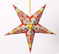 árbol de navidad decoración de color nepal techo pentagrama lámpara de techo de sombra
