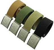 Rockway® Outdoors Unisex Nylon Metal Buckle Sturdy and Strong Belts