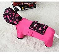 grosso casaco roupas de algodão acolchoado pernas com bolsos grandes para cães e animais de estimação (cores sortidas, tamanho)
