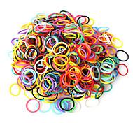 Eruner®DIY Bracelets Rainbow Color Loom Bands Random Color Rubber Band