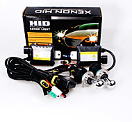 12V 55W H4 Hid Xenon High / Low Conversion Kit 6000K