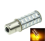 1156 20W 36X5730SMD 800-1200LM Yellow Light Led Bulb for Car Turn Lamp(1PCS/AC12-16V)