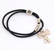 Boutique Fashion Classic Bow Shape Hair Ties