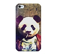 Panda Pattern Back Case for iPhone 4/4S