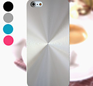 DF Solid Color Helix Brushed Aluminium Case Cover for iPhone 4/4S(Assorted Colors)