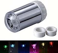 rc-f06 élégant jet d'eau colorée lumineuse lumière robinet led (plastique, finition chrome)