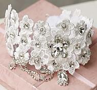 Women's Lace/Rhinestone/Alloy Headpiece - Wedding Headbands