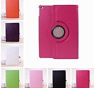 Wkae® Solid Color Litchi Texture Full Body Leather Case with Stand for iPad Air 2(Assorted Colors)