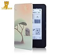 timido orso caso della copertura di stampa di cuoio ™ 6 pollici per amazon nuovo Kindle Touch 2014 (7 ° Kindle) ebook