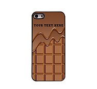 Personalized Phone Case - Chocolate Design Metal Case for iPhone 5/5S