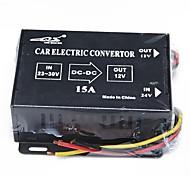 dc-15-dc 24v a 12v carro elétrico conversor (12v)