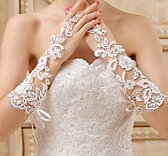 Fingerless Glove Bridal Gloves Spring / Summer / Fall / Winter Ivory