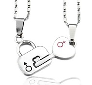 Lock the Loving Couple Necklace