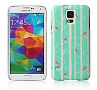 groene bomen patroon met rubber design case harde case voor Samsung Galaxy S5