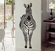 Wall Stickers Wall Decals,  Modern Zebra PVC Wall Stickers