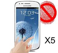 Matte Screen Protector for Samsung Galaxy S3 Mini I8190N(5 pcs)