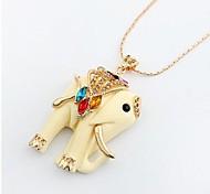 Korean Fashion Jewelry Sweater Chain - Elephant