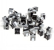 8.5 x 8.5mm 6-pin Self-locking Switch / Key Switch (50 PCS)