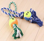 Dog Pet Toys Chew Toy / Interactive Rope Random Color Textile