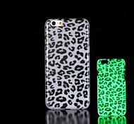 Leopard Pattern Glow in the Dark Hard Case for iPhone 6