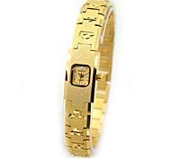 Women's Fashionable Style Waterproof Gold Bracelet Quartz Watch