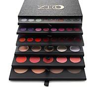 pro alta qualidade 134 cor da sombra / lip gloss / corar paleta de maquiagem / fundação conjunto de cosméticos