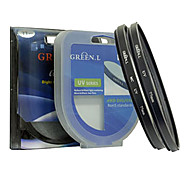 Adapter Ring for Nikon P100 67MM Metal Tube and Ring Green UV Lens Hood Lens Cap Set