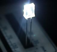 2 * 5 * 7 milímetros branco diodo emissor de luz lâmpadas led (20 peças por pacote)