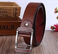 cinturón de cuero de los hombres de negocios
