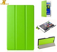 scheuer Bär ™ Lederabdeckungsstandplatzfall für Sony Xperia Tablet z3 kompakten 8-Zoll-
