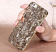 Bright Tin Foil Style PC Back Cover Case for iPhone 6 (Assorted Colors)