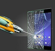 película protectora de pantalla de cristal templado de alta calidad para Sony Xperia t2